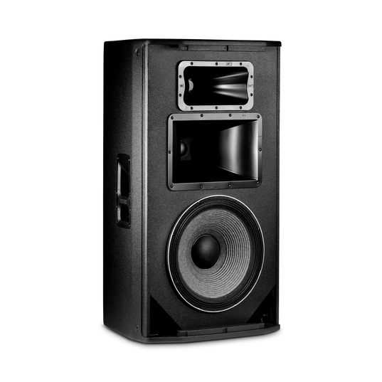 "JBL SRX835P - Black - 15"" Three-Way Bass Reflex Self-Powered System - Detailshot 1"