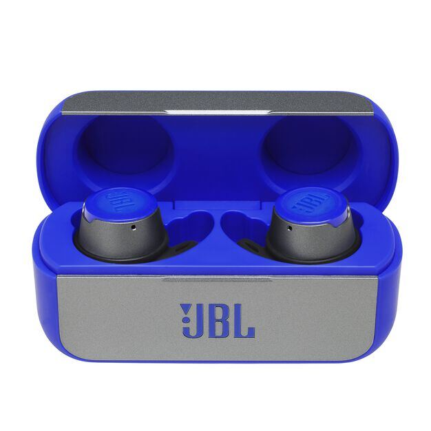 JBL REFLECT FLOW - Blue - True wireless sport headphones. - Detailshot 3