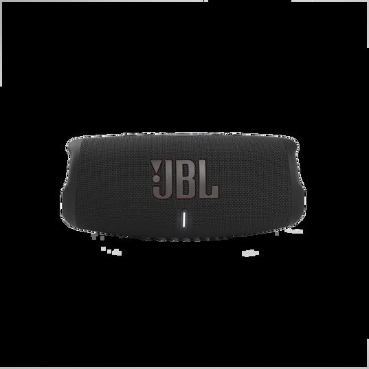 JBL Charge 5 - Black - Portable Waterproof Speaker with Powerbank - Front