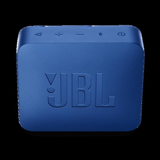 JBL GO 2 - Deep Sea Blue - Portable Bluetooth speaker - Back