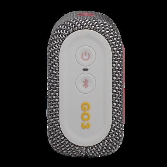 JBL GO 3 - Grey - Portable Waterproof Speaker - Right