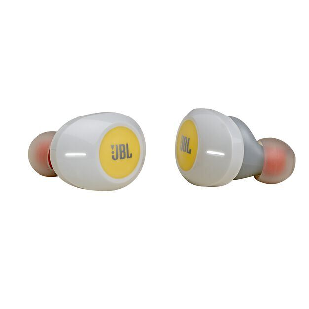 JBL TUNE 120TWS - Yellow - Truly wireless in-ear headphones. - Detailshot 1