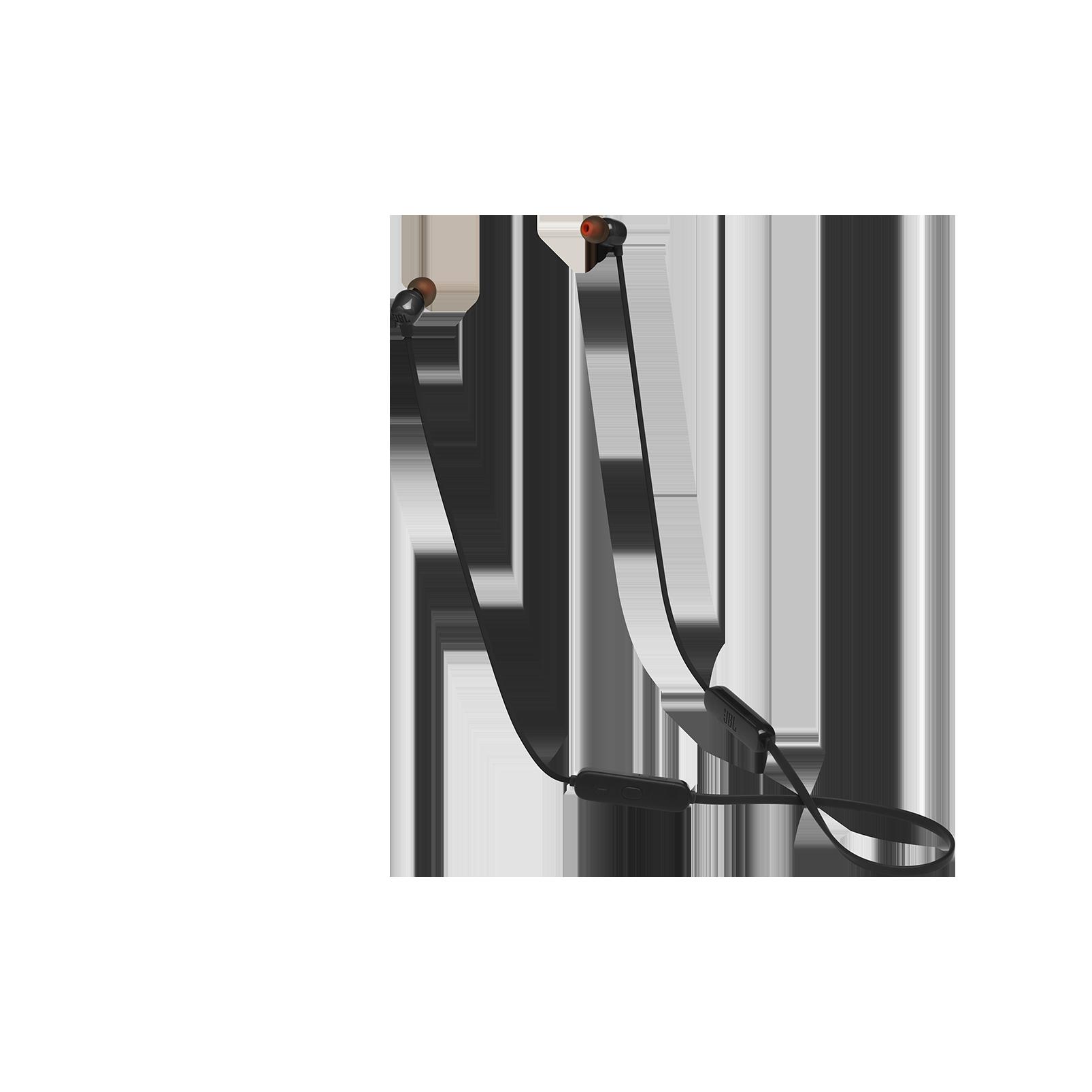 JBL TUNE 115BT - Black - Wireless In-Ear headphones - Hero