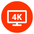 Ultra HD 4K Pass-through with Dolby Vision™
