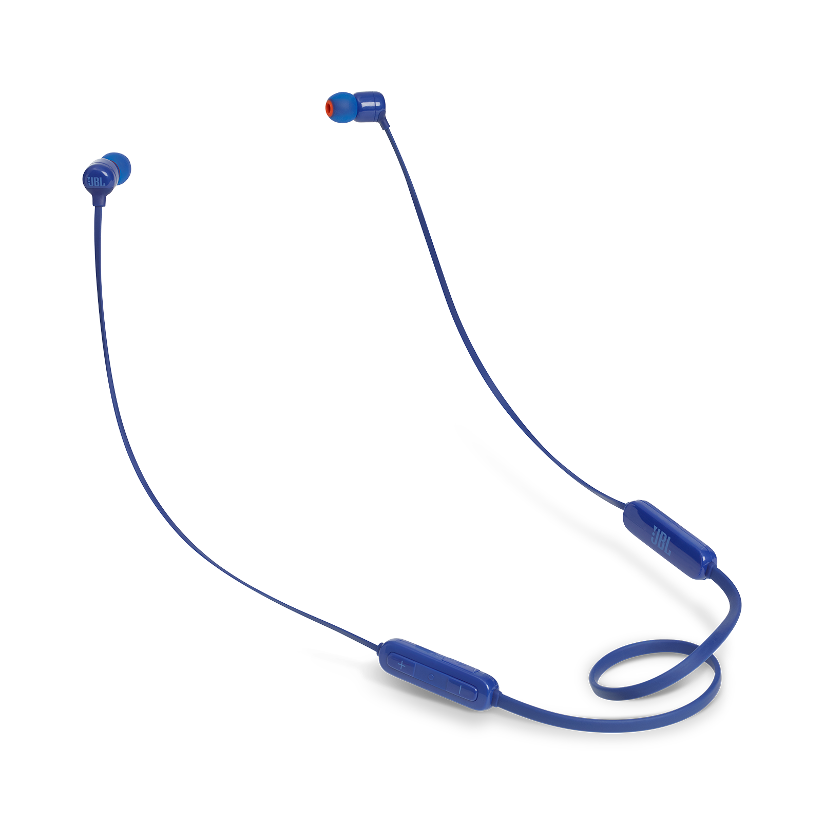 JBL TUNE 110BT - Blue - Wireless in-ear headphones - Hero